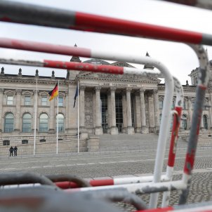 Edifici del Bundestag vigilància reforçada EFE