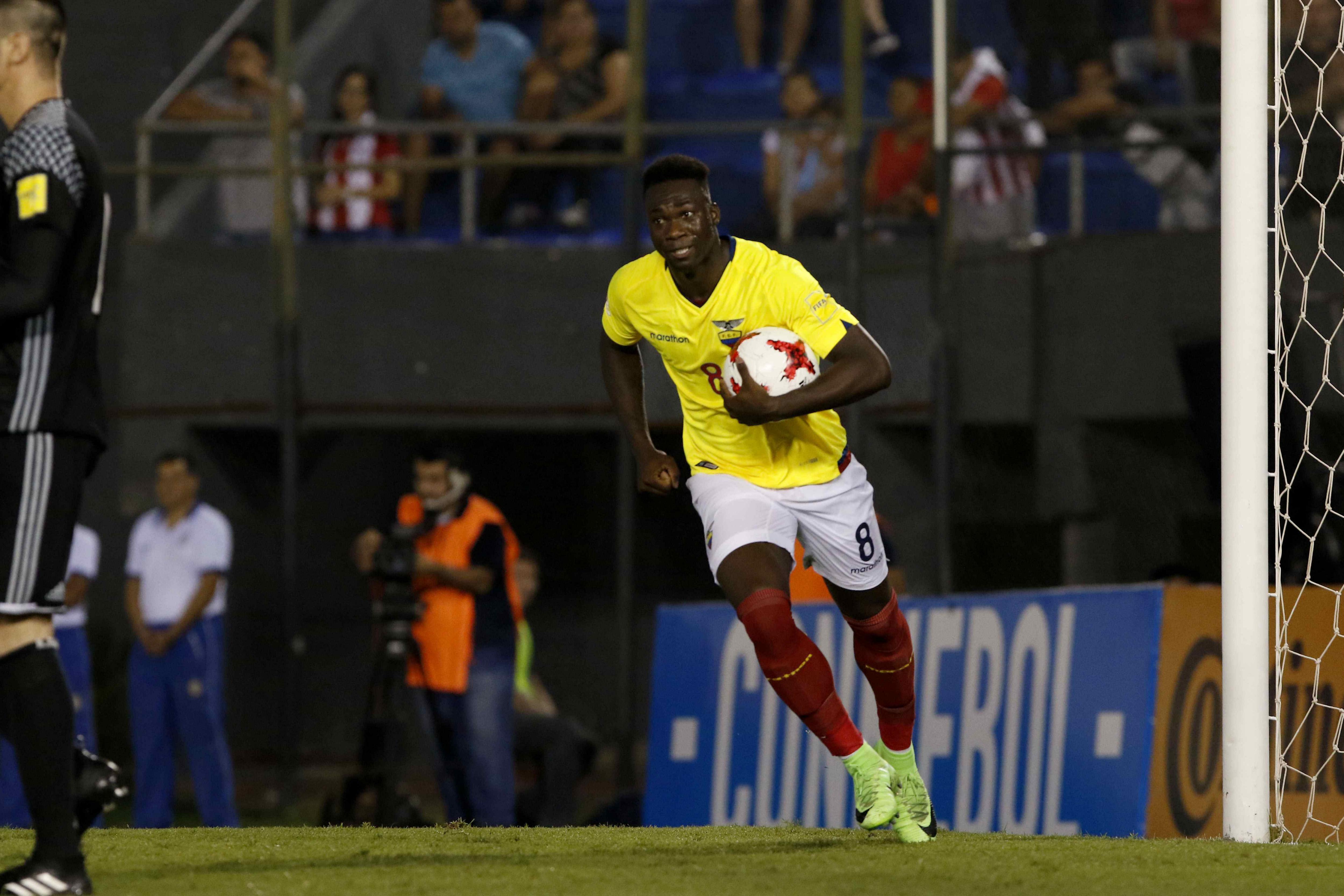 Caicedo Equador Paraguai EFE