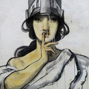 Silenci grafiti (Pxhere)