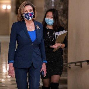 Nancy Pelosi, la portavoz del Congreso de los EE. UU.  Efe