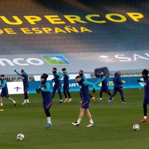 Barça entrenamiento EFE