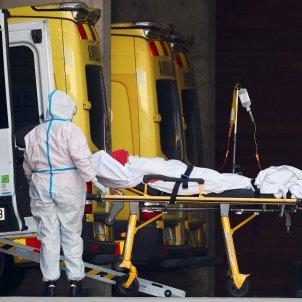 Coronavirus hospital Barcelona riesgo rebrote  Efe