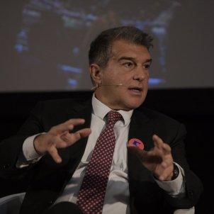 Presentación económica del pla del Barça del equipo Laporta elecciones Barça 2021_17 / María Contreras Coll
