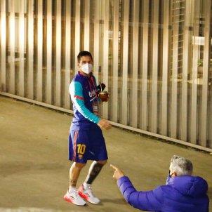 Leo Messi Barca mascarilla EFE