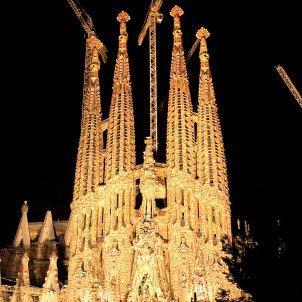 Sagrada familia by night 2006
