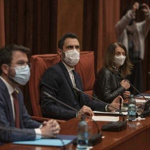 Reunió Parlament  Taula de partits 14F - Maria Contreras Coll
