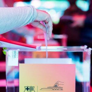 Urna urnes Barca elecciones @FCBarcelona