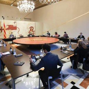 Reunió extraordinaria Govern eleccions - Ruben Moreno