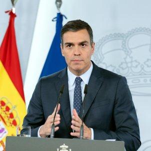 Pedro Sánchez, Roda de Premsa / ACN