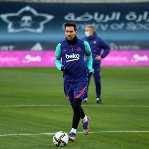 Messi Barca entrenament FC Barcelona