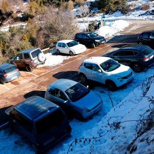 coches montseny parquing collformit nieve - ACN