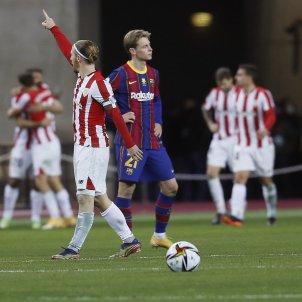 De Jong triste Athletic gol Supercopa Espana EFE