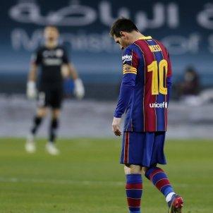 Messi Barça triste EFE