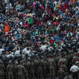 caravana exèrcit hondures 2 EFE