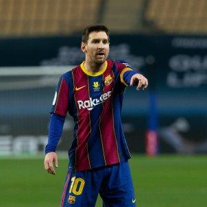 Messi enfadado Barça EuropaPress
