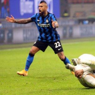 Arturo Vidal Cristiano Ronaldo Inter Juventus EFE