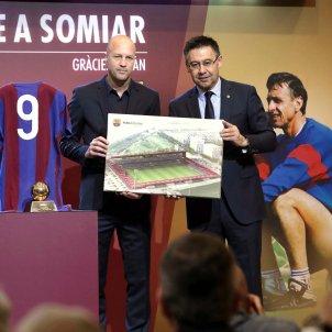 Johan Cruyff Miniestadi Barça Efe