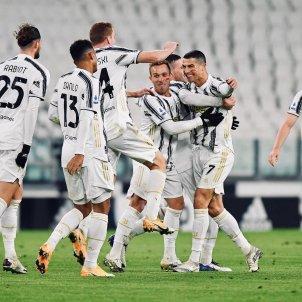 Cristiano Arthur Juventus celebracion gol @arthurmelo