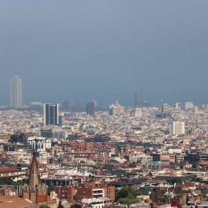 contaminació aire barcelona ACN