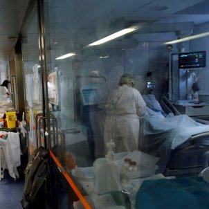 Coronavirus UCI Hospital Clínic EFE