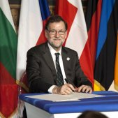 Rajoy a Roma EFE