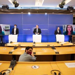 presentacio caucus europeu autodeterminació parlament - @pernandobarrena