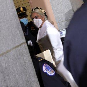 lady gaga presa de possessió biden @EFE