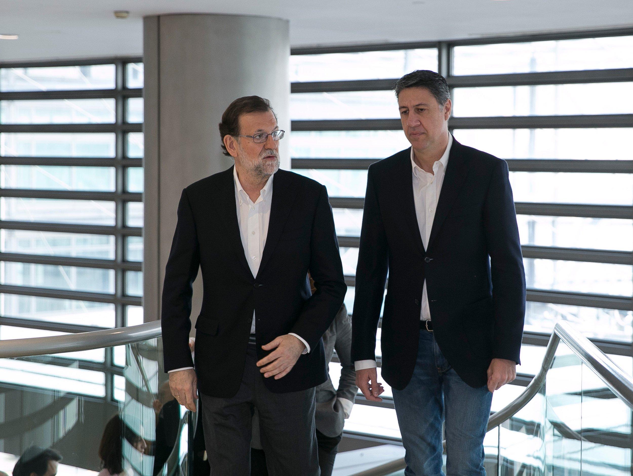 Rajoy i Albiol ACN