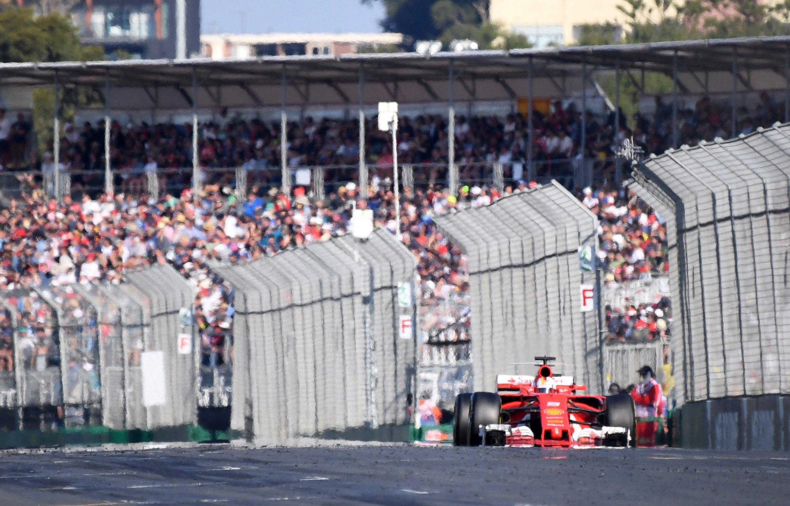 Sebastian Vettel GP Austràlia Fórmula 1 Efe