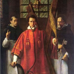 Cremen viu Vicent, patró de València. Representació moderna de sant Vicent Martir, obra de Francesc Ribalta (segle XVII). Font Museu Hermitage
