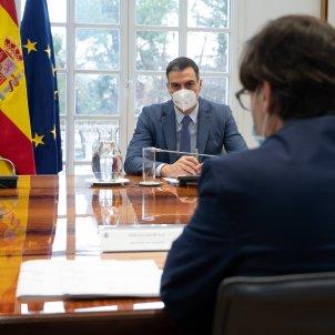 EuropaPress 3528627 presidente gobierno pedro sanchez preside reunion comite seguimiento salvador illa