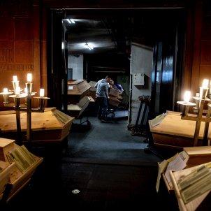 crematorio meissen covid - Efe