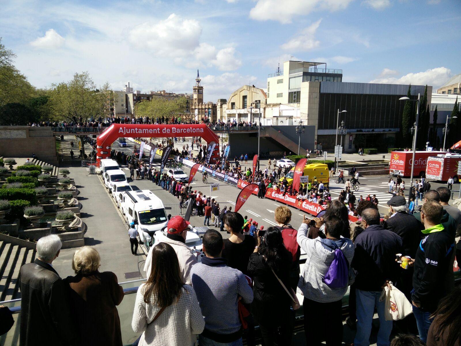 Volta a Catalunya 2017 Jordi Carné ambient cursa