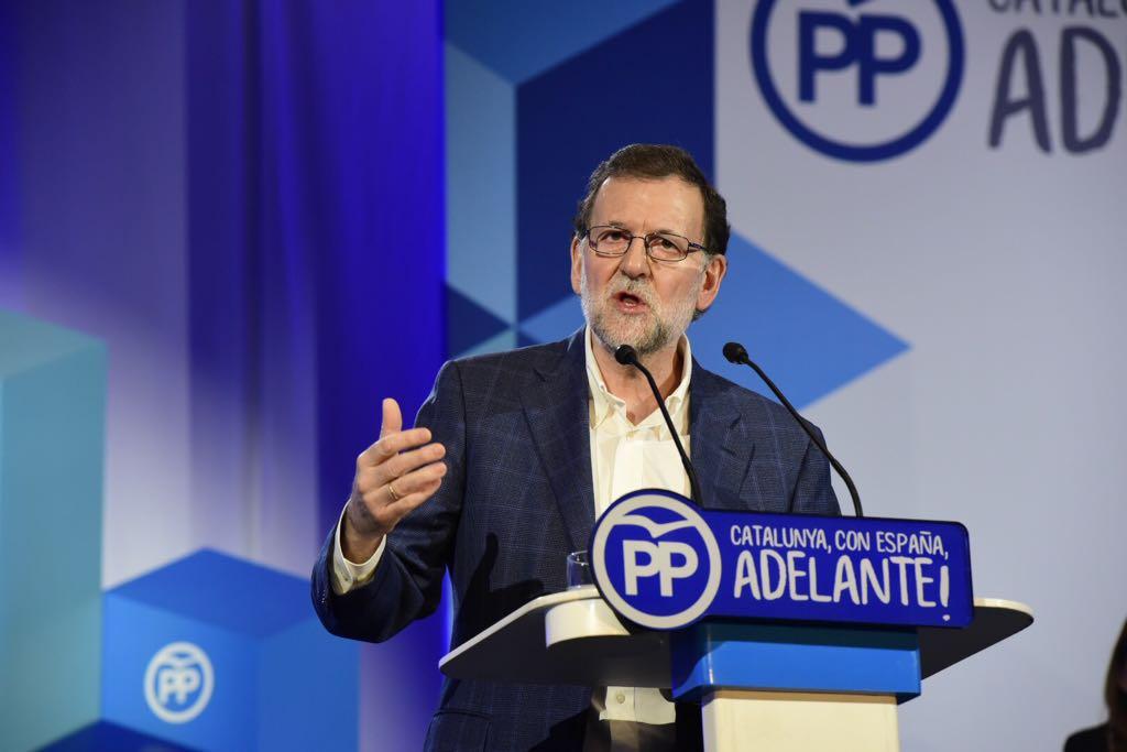 Rajoy PP congres Laura Gomez
