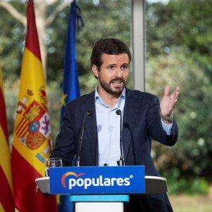 Casado acto barcelona / EFE