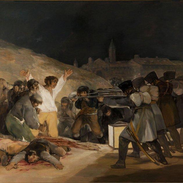 Afusellaments del 2 de maig, obra de Francisco de Goya. Font Museu del Prado