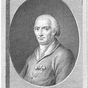 Neix Olavide, promotor de la colonització catalana d'Andalusia. Retrat de Olávide. Font Biblioteca Digital Hispánica
