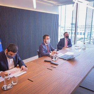 reunión govern ayudas economicas covid - ACN