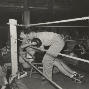 Boxa Boxeo 1930 (Lee Russell, The New York Public Library)