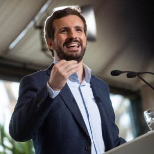 presidente PP Pablo casado - efe
