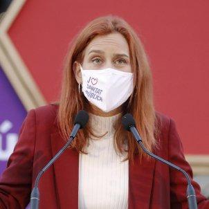 Jesica albiach candidata comuns eleccions 14f catalunya - Efe