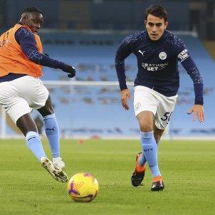 Eric Garcia entreno Manchester City Europa Press
