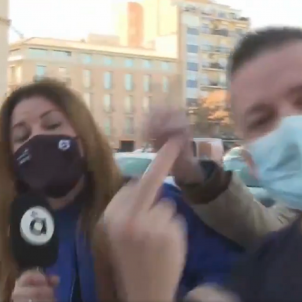 Agressión periodista valenciana / À Punt