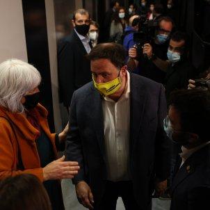 Oriol Junqueras acto ERC eleccions 14F Badalona, Dolors SABATER / Sergi Alcàzar