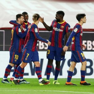 Messi Umtiti Barça Athletic FC Barcelona