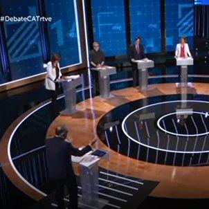 debate catalunya elecciones 14f - tve