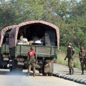 detenció executiu birmània militars EFE