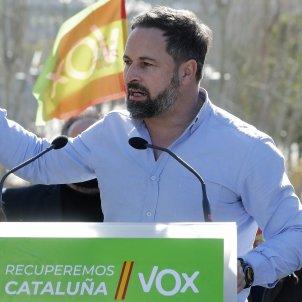 santiago abascal lider vox miting barcelona eleccions 14-F