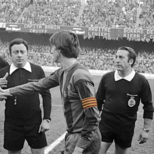 Johan Cruyff Barca senyera brazalete @FCBarcelona