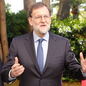 Rajoy gran camisa blava sergi alcazar